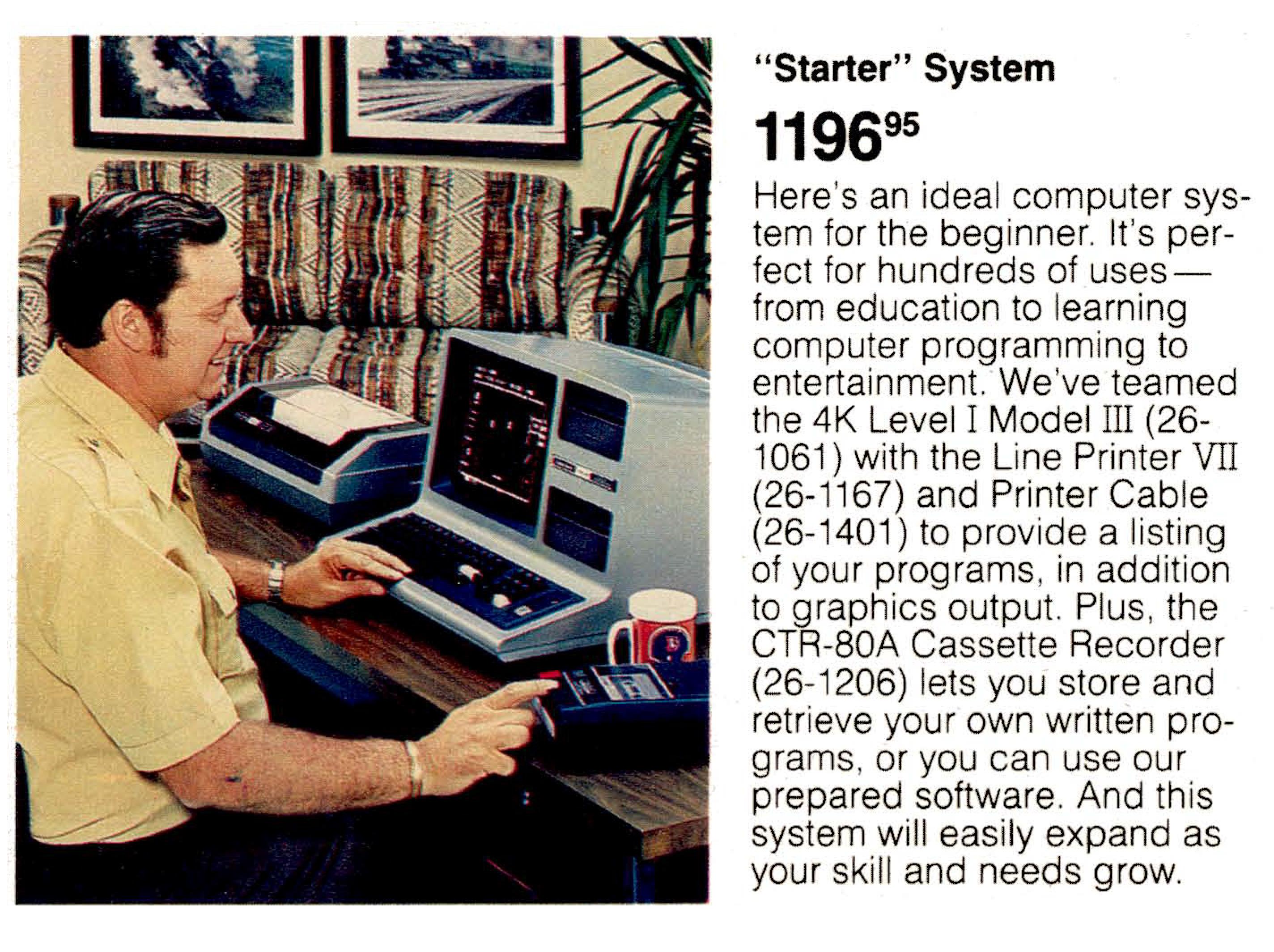[Model III Starter System]